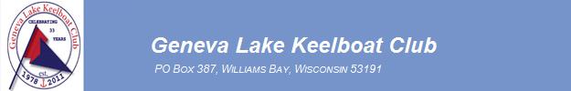 Geneva Lake Keelboat Club BANNER