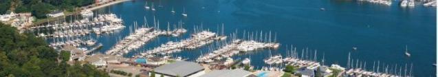 Denison Yacht Sales at Eldeans Shipyard Michigan