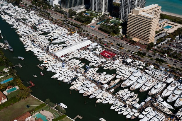 Charter Yachts available at Miami Boat Show