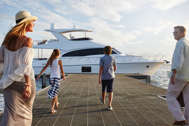 Yachting is a family event